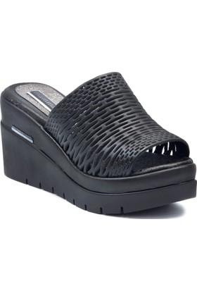 Mammamia D18Yt 2185 Siyah Terlik Sandalet