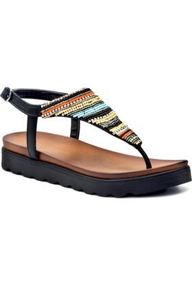 Gedikpaşalı 8Ys 7928 Siyah Terlik Sandalet