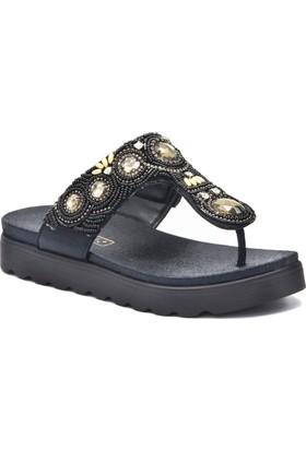 Gedikpaşalı 8Y 5566 Siyah Terlik Sandalet