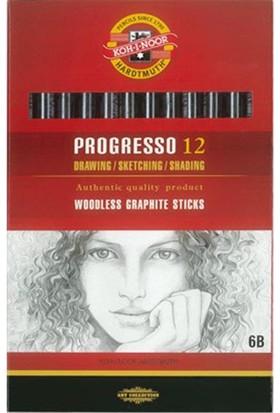 Koh-İ-Noor Woodless Graphite Pencil 6B 8911-06B004Pz