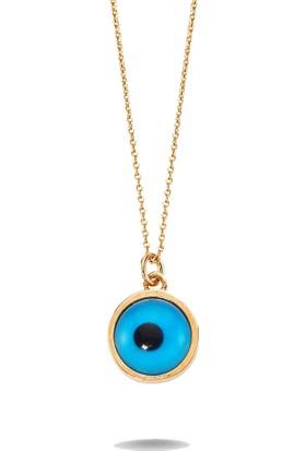 Vella Jewels Gümüş Göz Boncuk Kolye