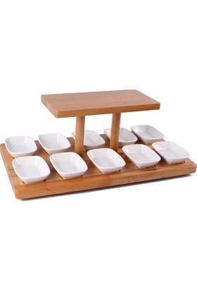 Woodenplus Layer Modeli, Ahşap Serpme Kahvaltı Sunumu