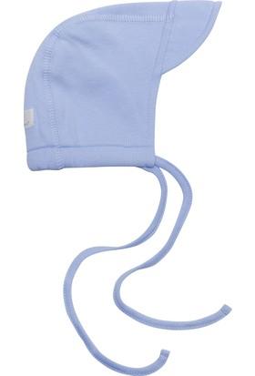 Organicera Organik Bebek Şapkası Mavi