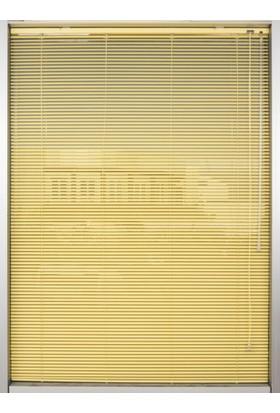 Daria Dar Metal Jaluzi Sarı