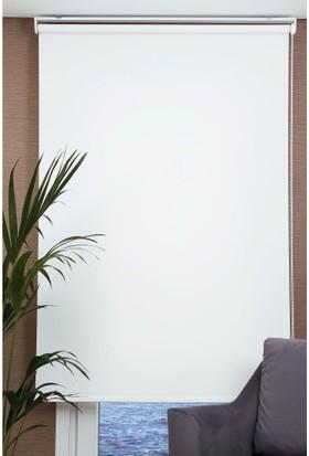 Daria Mat Polyester Beyaz Stor Perde