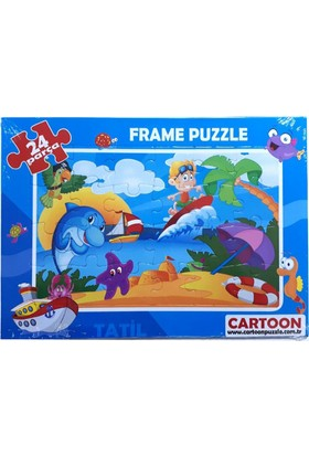 Cartoon Network Oyuncak Yapboz Frame Puzzle
