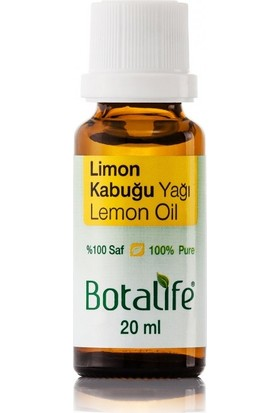 Botalife Limon Kabuğu Yağı 20 ml