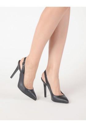 Mecrea Kadın Antares Siyah Topuklu Stiletto