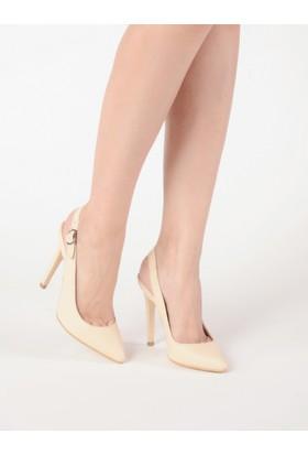 Mecrea Kadın Antares Ten Topuklu Stiletto