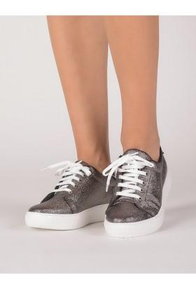 Mecrea Kadın Frencesco Platin Sneaker
