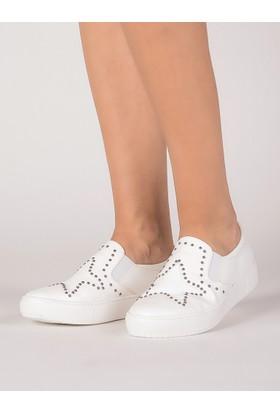 Mecrea Kadın Gerard Beyaz Yıldız Sneaker