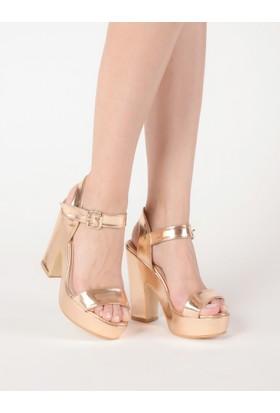 Mecrea Kadın She Rose Platform Topuklu Sandalet
