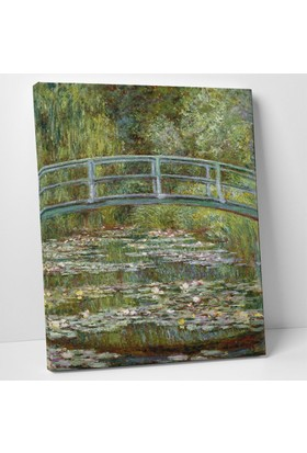 Claude Monet Japon Köprüsü Kanvas Tablo 30 x 40 cm