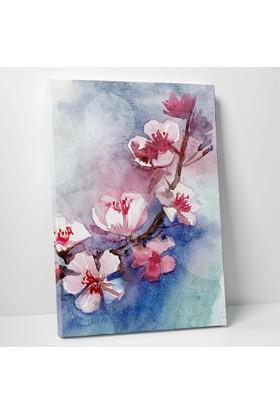 Mâbeyn Stüdyo Suluboya Çiçekler Kanvas Tablo 20 x 30 cm