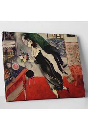 Marc Chagall Doğum Günü Kanvas Tablo 40 x 30 cm