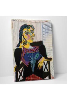Pablo Picasso Dora Maar'ın Portresi Kanvas Tablo 20 x 30 cm