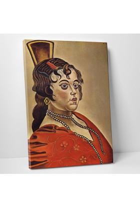 Joan Miro İspanyol Dansçının Porrtresi Kanvas Tablo 30 x 40 cm