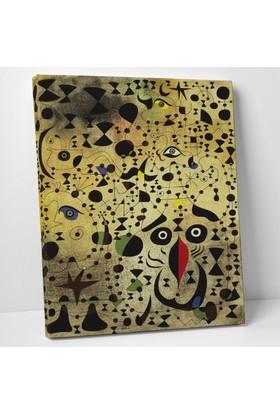 Joan Miro Joan Miro Kanvas Tablo 30 x 40 cm