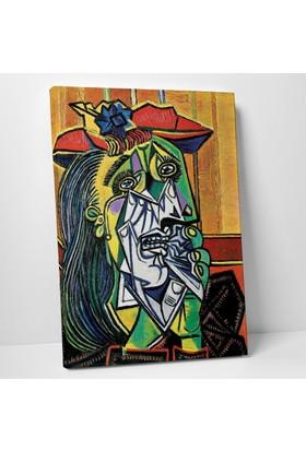 Pablo Picasso Ağlayan Kadın Kanvas Tablo 20 x 30 cm