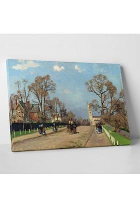 Camille Pissarro Sydenham Caddesi Kanvas Tablo 30 x 20 cm