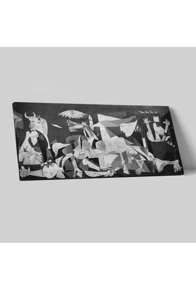 Pablo Picasso Guernica Kanvas Tablo 25 x 50 cm