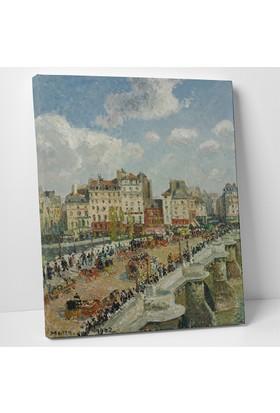 Camille Pissarro The Pont Neuf Kanvas Tablo 30 x 40 cm