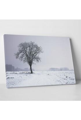 Anonim Kış Manzarası Kanvas Tablo 30 x 20 cm
