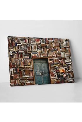 Anonim Kütüphane Kanvas Tablo 30 x 20 cm