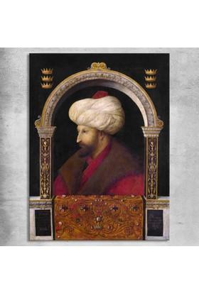 Gentile Bellini Fatih Sultan Mehmet Kanvas Tablo 30 x 45 cm