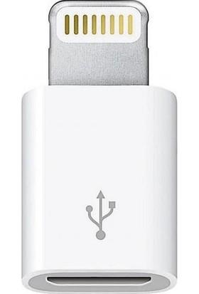 Alfais AL-4520 Micro Usb Apple iPhone Lightning Çevirici Dönüştürücü Adaptör