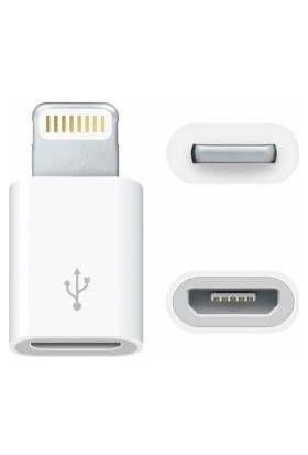 Azemax iPhone Lightning Micro Usb Çevirici Adaptör