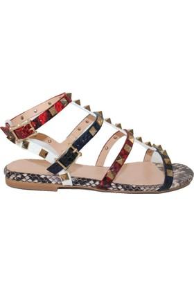 Efem 0197-109 Deri Sandalet