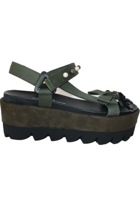 Efem 18-71 Deri Sandalet