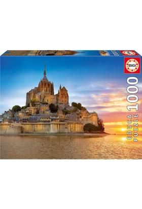 Educa Puzzle Mont Saint Michel, France 1000 Parça