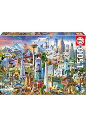 Educa Puzzle Symbols From North America 1500 Parça