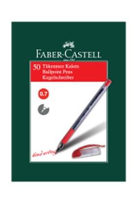 Faber-Castell 1425 İğne Uç Tükenmez , Kırmızı 50' li Kutu