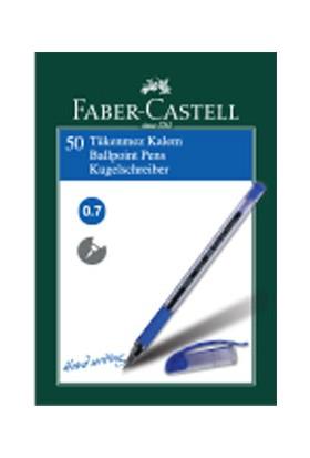 Faber-Castell 1425 İğne Uç Tükenmez , Mavi 50' li Kutu