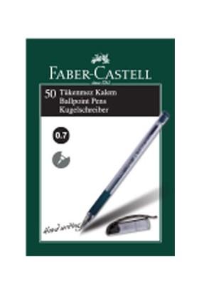 Faber-Castell 1425 İğne Uç Tükenmez, Siyah 50' li Kutu