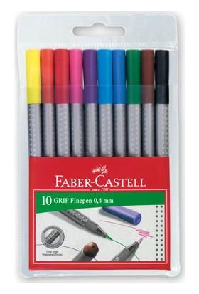 Faber-Castell Grip Finepen 0.4mm 10'lu Karton Kutu