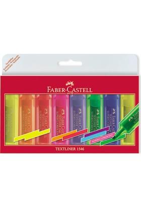 Faber-Castell Şeffaf Gövde Fosforlu Kalem 6+2'li Poşet