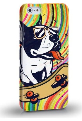 Biggdesign Köpek iPhone 4/4S Kapak