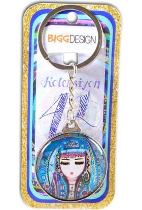 Biggdesign Mavi Su Anahtarlık by Canan Berber