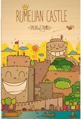 Biggdesign Smiling İstanbul Rumeli Ahşap Kartpostal