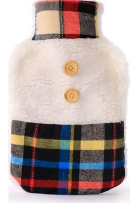 Bigghome Bordo Kareli Sıcak Su Torbası