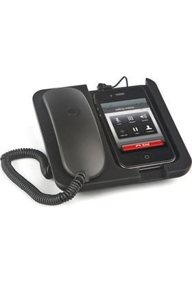 Balvı Blv24958 Retro Telefon Ahizesi Standlı Siyah