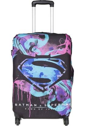 Batman v Superman Valiz Kılıfı