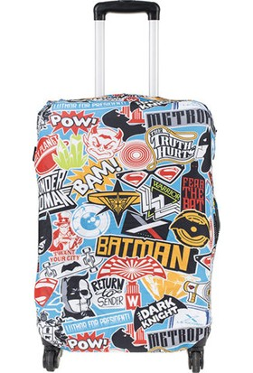 Batman v Superman DC Comics Valiz Kılıfı