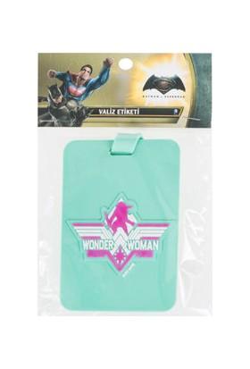 Batman v Superman Wonder Woman Valiz Etiketi