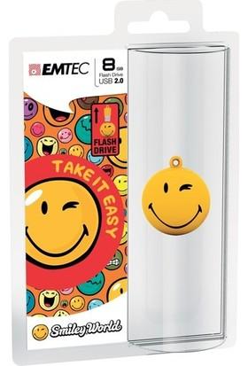 Emtec Sw100 8Gb Usb Bellek Smiley