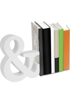 Nektar 24562 Kitap Tutucu Ahşap